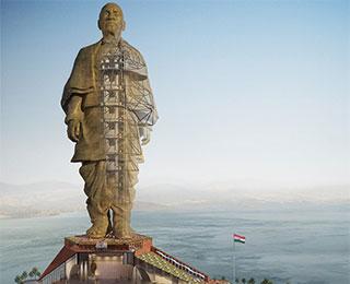 印度:世界最高雕像竣工在即