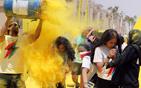 埃及趣味色彩赛跑