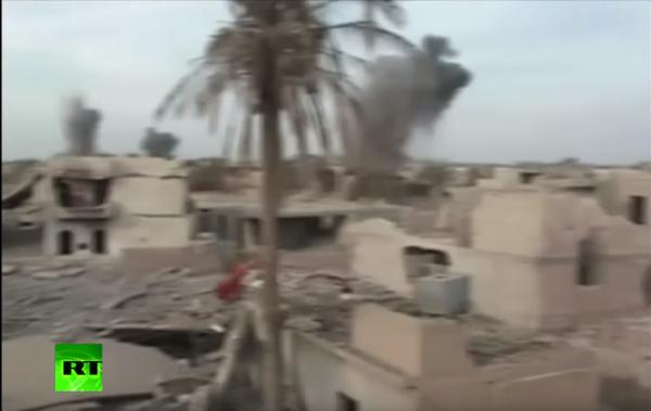 拉马迪现集体坟坑 死者或被IS用作人体盾牌