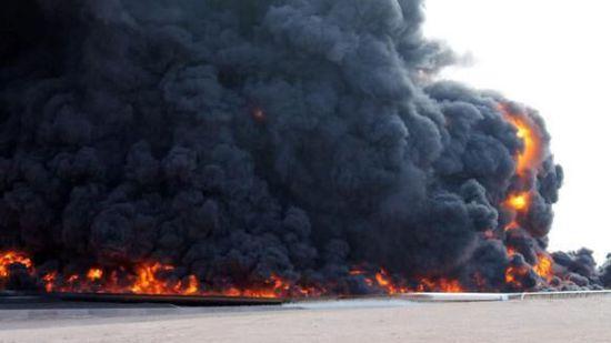 IS袭击利比亚东部油港  引发大型火灾(图)