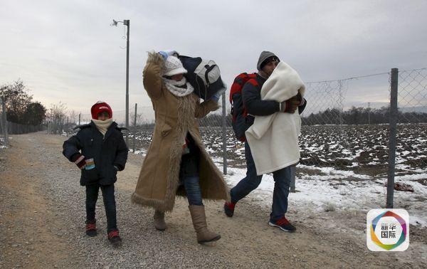 天寒地冻 赴德难民大潮减退