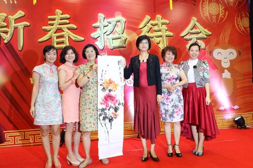 中国驻泗水总领馆举办2016年春节招待会