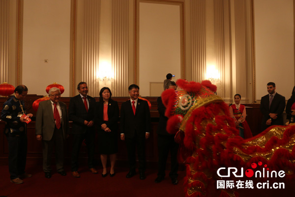 美国会亚太裔党团首次举办春节庆祝活动