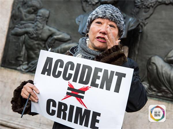 """华裔警察枪案裁定牵动美国""""敏感神经"""""""