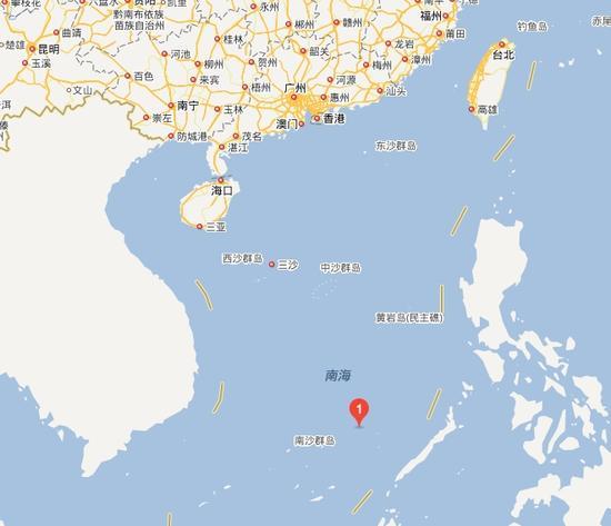 外媒:中国往南海五方礁部署船只 驱离菲渔民