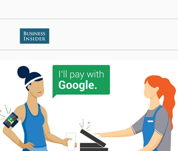 谷歌在美国加州的几家特定餐厅推出了hands free(解放双手)支付功能