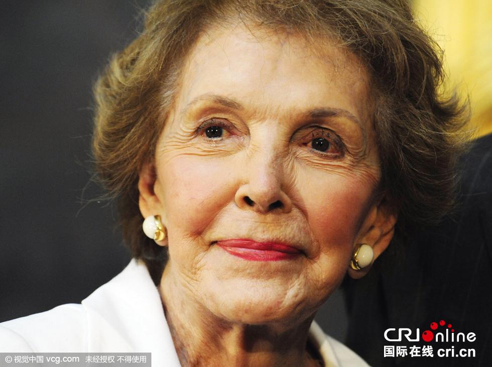 美国前第一夫人南希·里根逝世 享年94岁