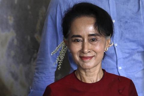 昂山素季无缘缅甸总统宝座 亲信或成代理人
