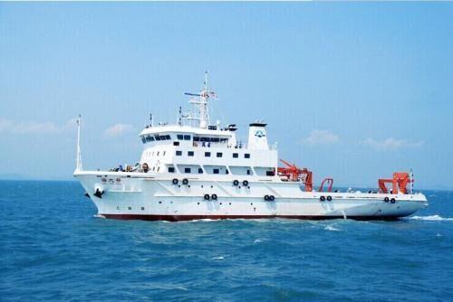 中国海洋调查船在冲之鸟礁近海航行遭日方警告