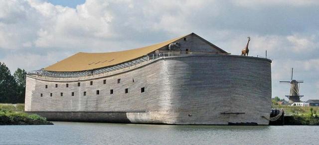 """富豪欲驾""""诺亚方舟""""赴巴西 航程耗资1300万"""