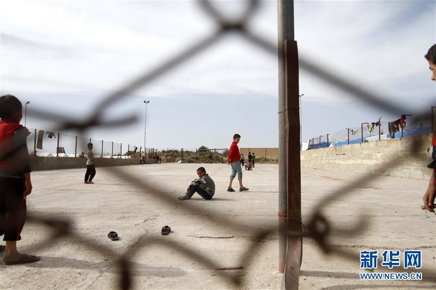"""逃离""""伊斯兰国""""控制区的叙利亚儿童(高清组图)"""