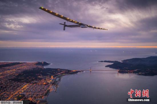 环球之旅继续:世界最大太阳能飞机抵达凤凰城