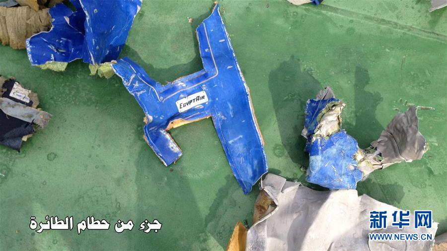 埃航失联客机残骸与乘客遗物