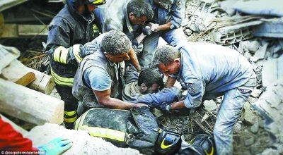 意地震159人遇难