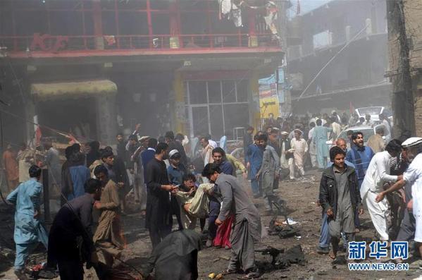 #火狐窝#巴基斯坦发生爆炸(组图)