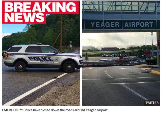 美国一机场发生飞机失事事故