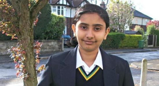 印度籍12岁女孩智商达162 超爱因斯坦与霍金