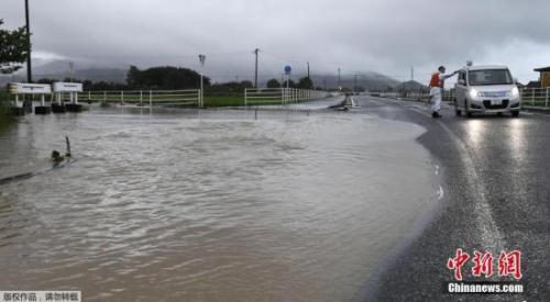 强台风令日本9州暴雨成灾 多人失联40万人避难