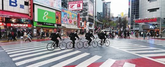 日本单车文化:寄托都市人文情结