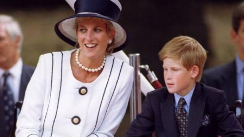 资料图:戴安娜王妃与儿子. 图片来源:路透社-家丑 别说 朋友求停播