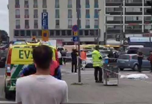 芬兰西南部城市持刀行凶事件2死6伤 凶徒动机待查