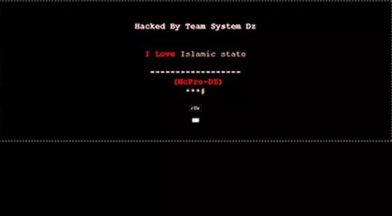 黑客占领加拿大警察局官网 网站上写着