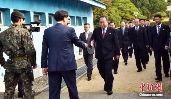 韩朝商定启动跨境铁路联合考察 韩列车时隔10年有望再次在朝运行图片 39534 550x319