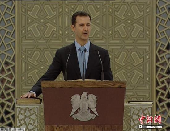巴沙尔 叙利亚的未来应完全由叙利亚人决定