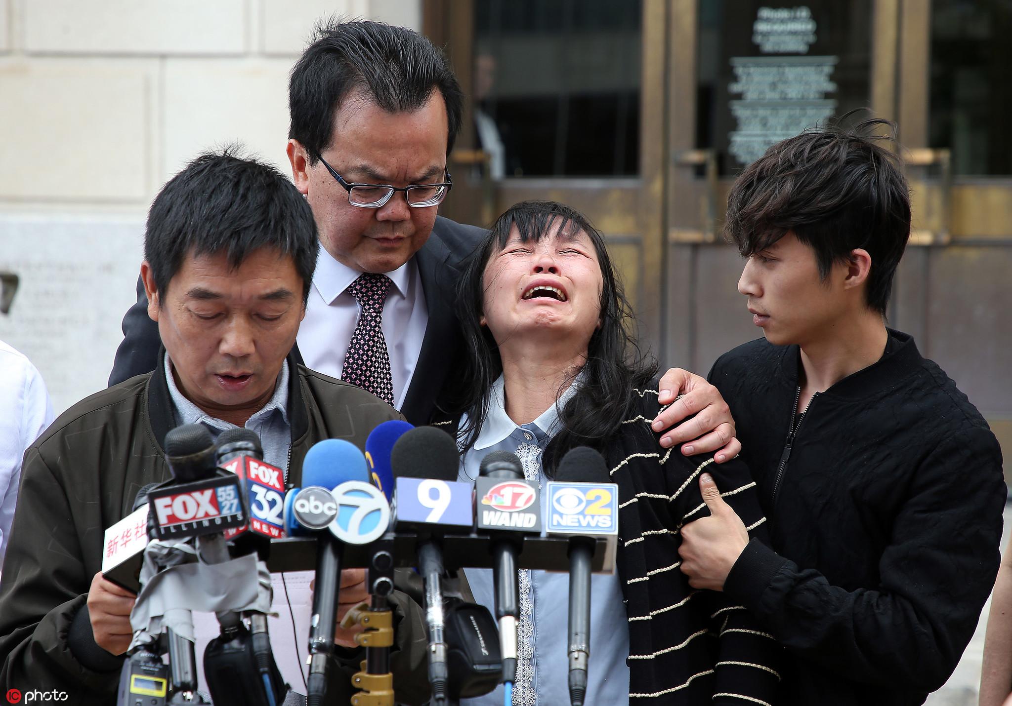 章莹颖案嫌犯推迟量刑审判动议被驳回 律师:意料之中
