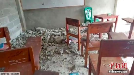印尼马鲁古强震死亡人数攀升至24人 近100人受伤