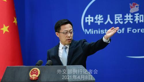 外交部:中国从来无意恐吓谁,但谁的恐吓也不怕