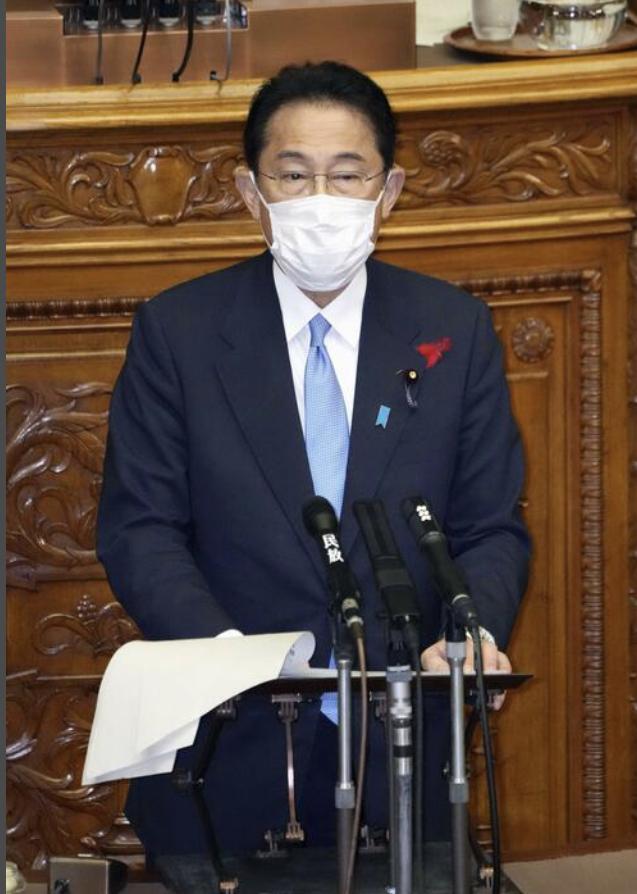 岸田文雄表示将为全民接种第三剂新冠疫苗做准备