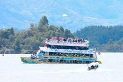 哥伦比亚观光船沉没 至少25人遇难