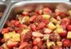 """食堂""""黑暗料理""""升级:草莓菠萝滑蛋饭"""
