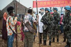 维和,中国军事外交的闪亮名片