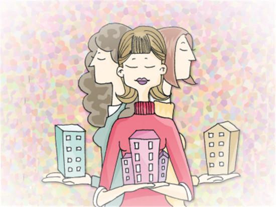 女人 洪理达/洪理达对中国女性的建议:第一,如果你决定结婚买房,确保在...