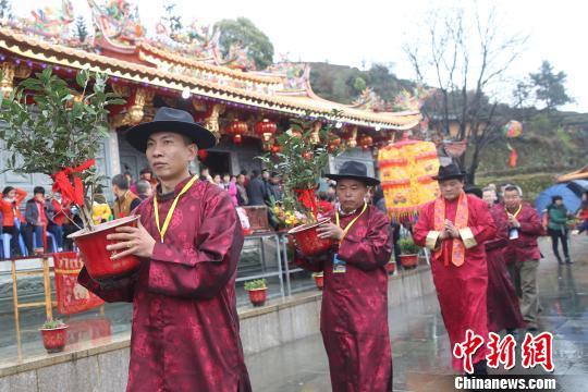 福建安溪举办茶文化旅游节 千人开启凤山岩禅茶之旅