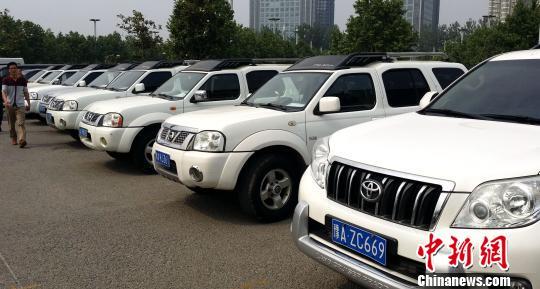 """郑州100辆公务用车冒暑""""首秀"""" 将面向公众拍卖"""