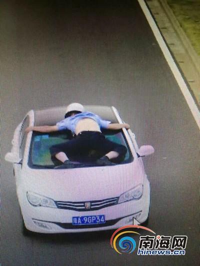海口开车顶撞协警女子有贩毒前科 反侦查能力强