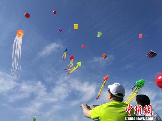 全国风筝精英赛开赛 万名风筝爱好者齐聚河北风筝之乡