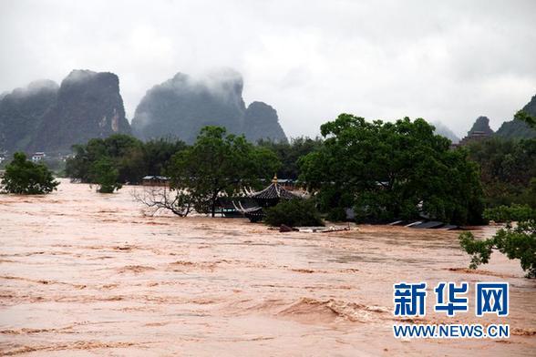 罕见洪灾无一人死亡——桂林市阳朔县抗灾见闻