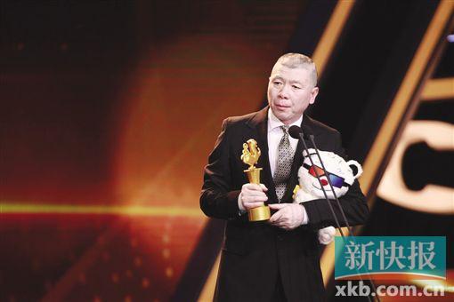 冯小刚白百何获大学生电影节帝后 冯导自嘲没上过大学