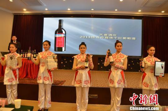 10万亩戈壁变良田 新疆焉耆县葡萄酒多次获大奖