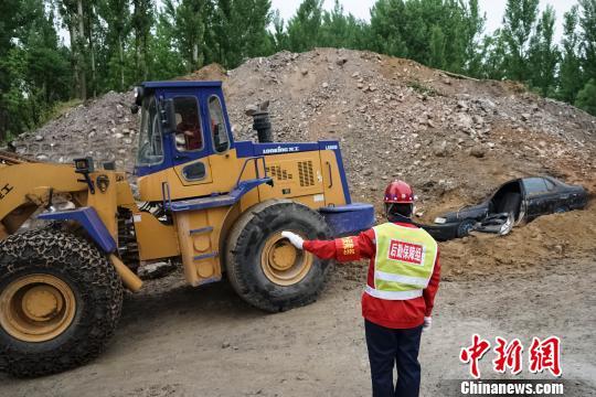 无人机等首次助力北京地震灾害公路抢险演练