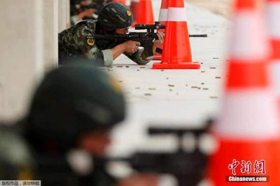 """中国军人在约旦续写""""勇士""""传奇"""