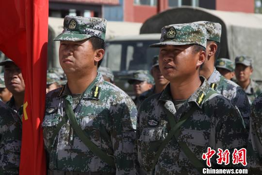 新疆兵团民兵夏季紧急集结 提升处突能力