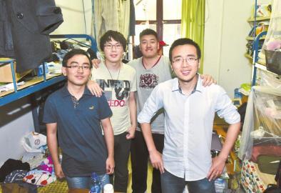 川大学霸寝室:5人收到至少16份名校录取通知书