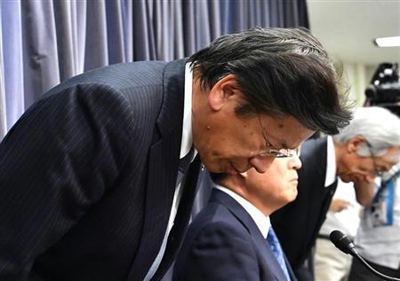 三菱汽车社长引咎辞职 称为与其他公司竞争造假