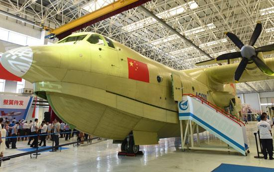 >> 正文  资料图:中国最大水上飞机ag600下线   原标题:ag600总师:4