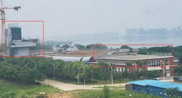 中国第三艘航母最新进展曝光 出现显著变化(图)